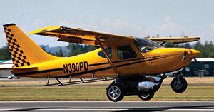 Glasair Sport 2+2, снабженный комплектом Plane Driven, может летать...