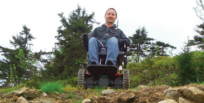 Инвалидная коляска Observer Maximus, которую Аранин разрабатывал  для себя, стала бестселлером в каталоге его компании