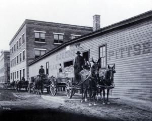 Фабрика Heinz, 1900 год