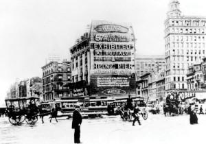 Наружная реклама Heinz в начале ХХ века