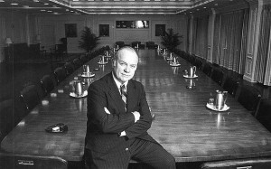 Преобразования, затеянные в Merrill Lynch в 1980-е годы тогдашним главой компании Уильямом Шрайером (на фото), в шутку называли «меррис-тройкой»