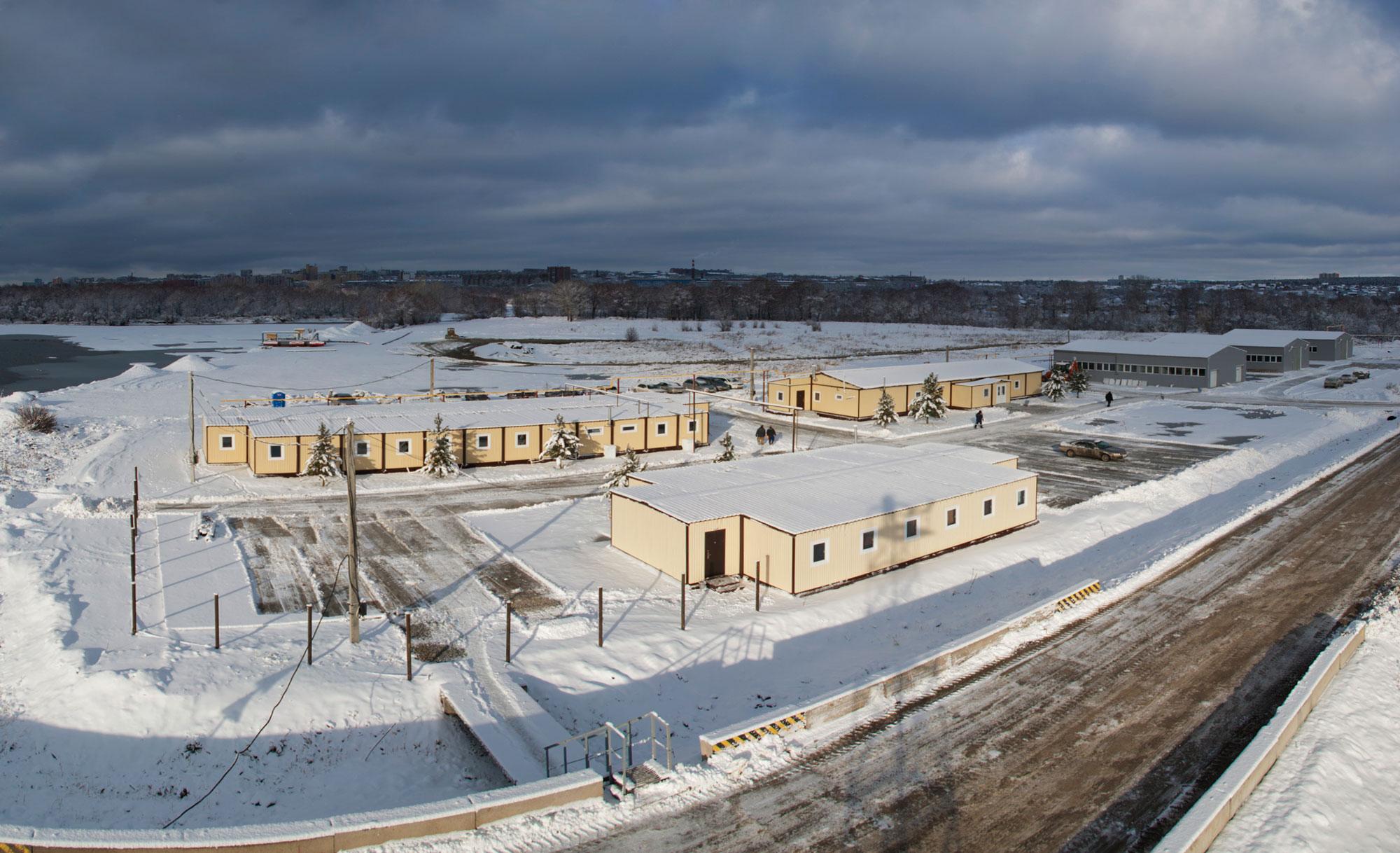Строительный городок Сибмост