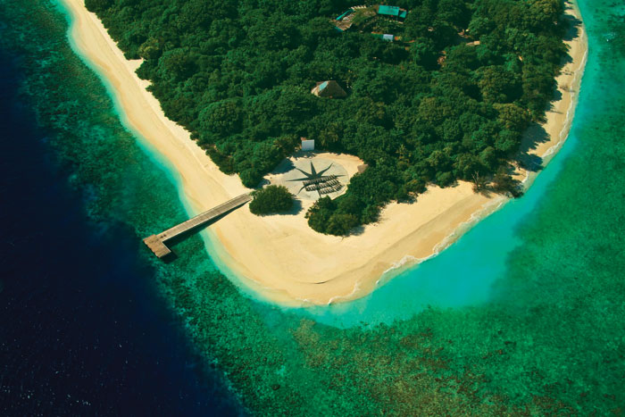 Концепция эко-курорта предполагает слияние с природой
