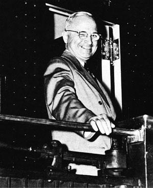 Гарри  Трумэн: «А  Гэллап-то тоже ошибается!»