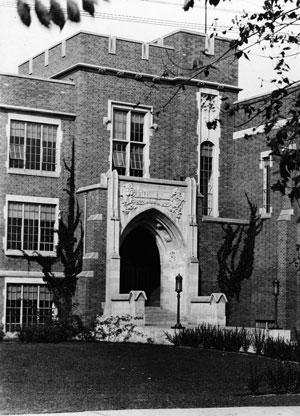 Здание колледжа в Джефферсоне, где Гэллап начинал свою карьеру социолога