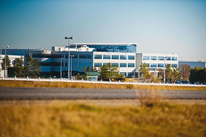 Завод Hyundai в Монтгомери, штат Алабама, открыт в 2005 году