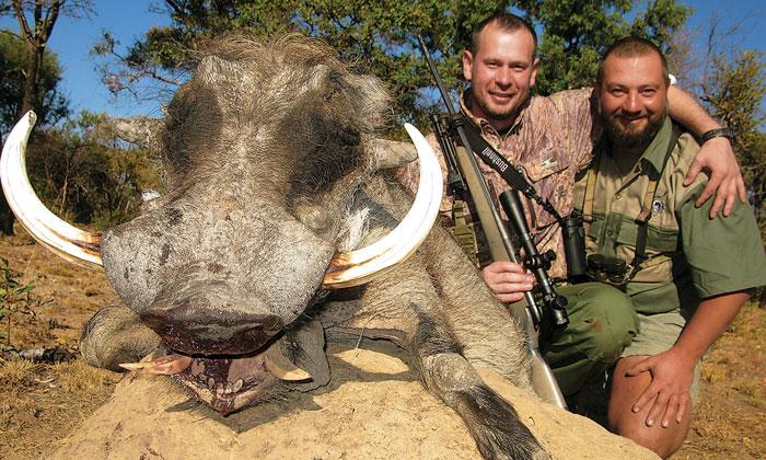 Георгий Рагозин, устраивая для иностранцев VIP-охоту в ЮАР, зарабатывает $1,5 млн. в год