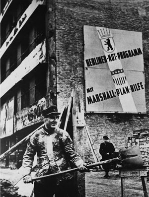 «План  Маршалла»  вселил оптимизм  в немцев