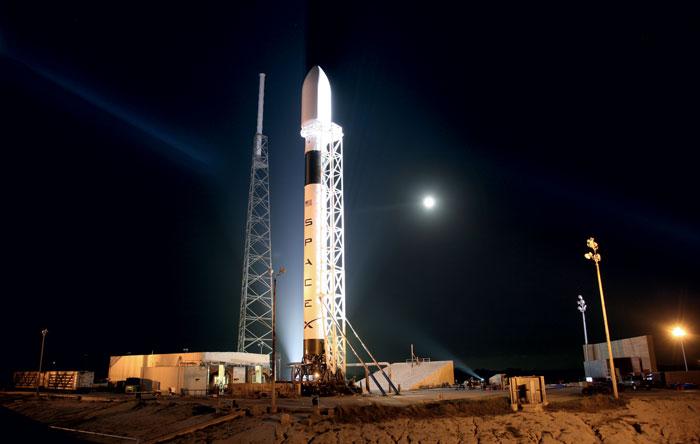 Пусковая установка ракеты Falcon 9