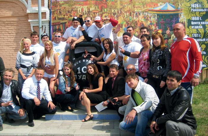 Сегодня «Уральская гиря» контролирует 50% российского рынка литых гирь
