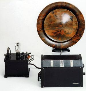 Первый  бытовой радиоприемник Philips  (1927)
