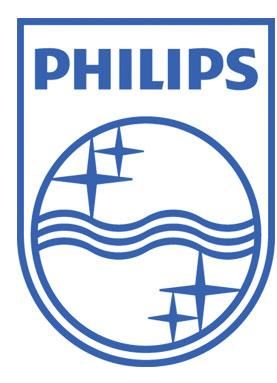 Знаменитый логотип  Philips c «волнами эфира»