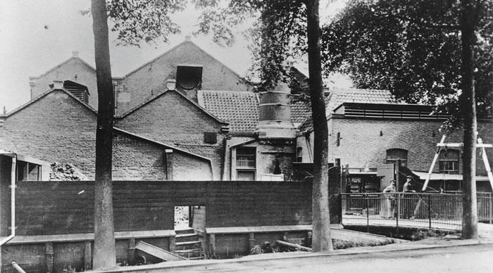 Первый завод Philips в Эйндховене (1891)