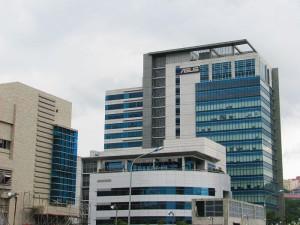 Штаб-квартира тайваньской ASUS — одного из мировых лидеров попроизводству ПК