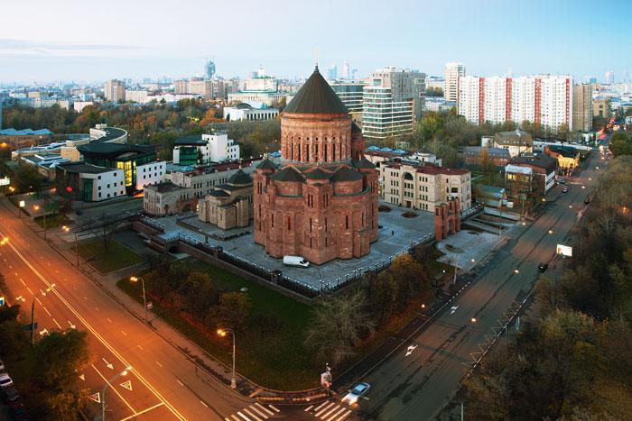 Проект по строительству Армянского храмового комплекса в Москве компания вела 10 лет