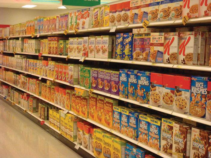 Продукцию Kellogg's можно обнаружить на полках магазинов  в 180 странах мира