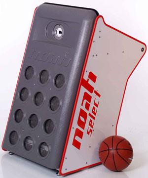 Система «Ной» позволяет баскетболистам в процессе тренировок мгновенно получать обратную связь