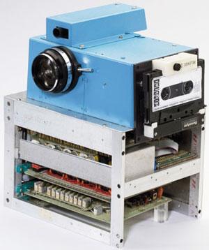 Так выглядела первая цифровая камера, которую Kodak в 1975 году изобрела на свою голову