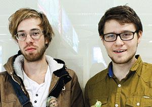 Александр Сосновских (справа) и Иван Васильев уверены, что идей модификации фигурок у них хватит на год вперед, мозги и рога — это только начало