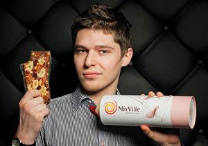 Олег Гуськов, сооснователь  MixVille, сразу решил сделать ставку на ассортимент