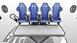 В зрительном зале штормит: движущаяся платформа с креслами способна вызвать приступ морской болезни