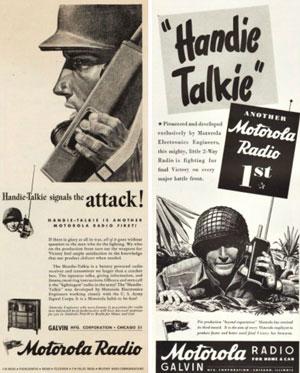 Рация Handie-talkie, разработанная для военных, пользовалась спросом и среди гражданских