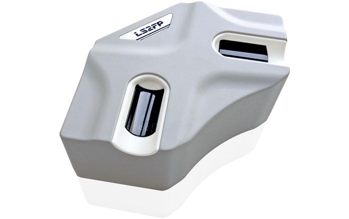 Так выглядит дактилоскопический считыватель системы биометрической безопасности
