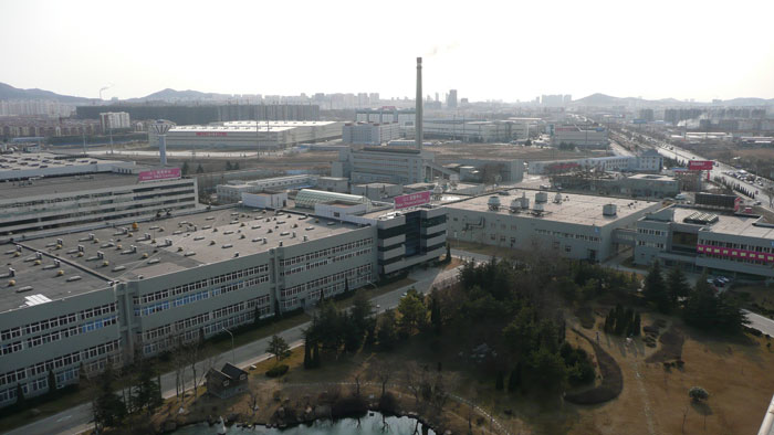 Индустриальный парк Haier в Циндао