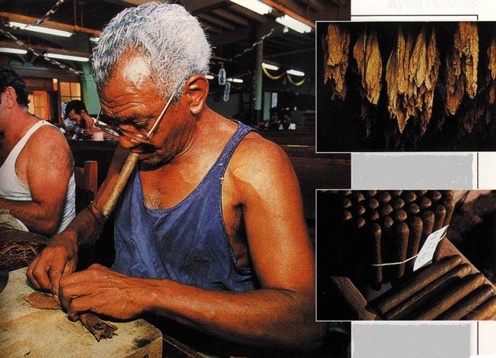Так на Кубе делают знаменитые сигары