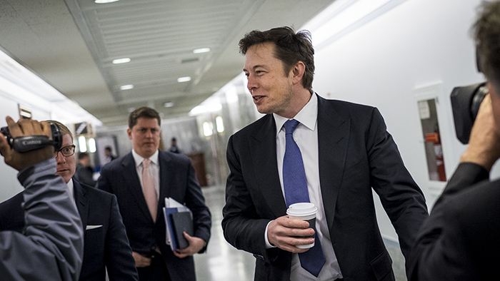 SpaceX CEO Elon Musk Testifies Before The Senate Appropriations Defense Subcommittee