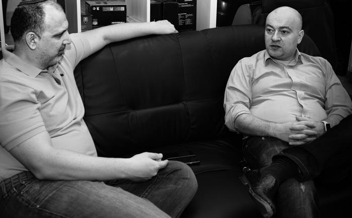 Сергей Котырев (справа) и Дмитрий Агарунов