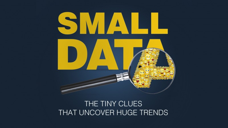 «Маленькие данные: ключики к пониманию мегатрендов»